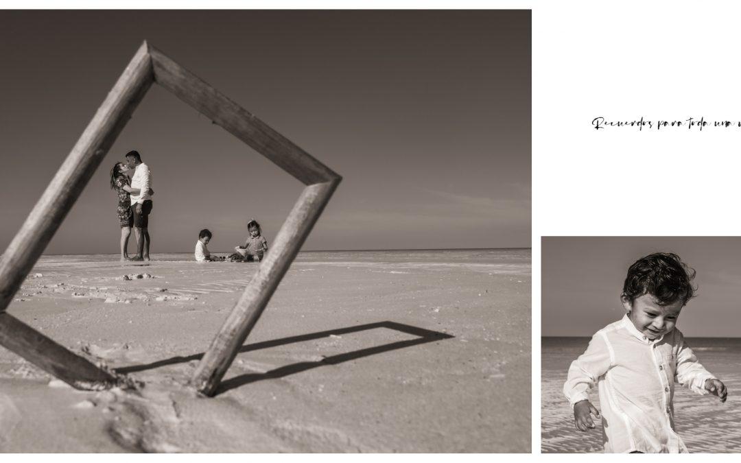 Fotografía de Familia en la Isla de Holbox